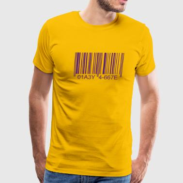 Bar Code - Men's Premium T-Shirt