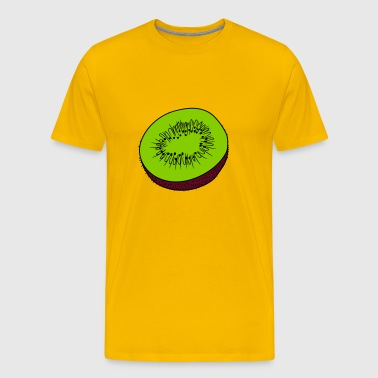 kiwi fruit tasty - Men's Premium T-Shirt