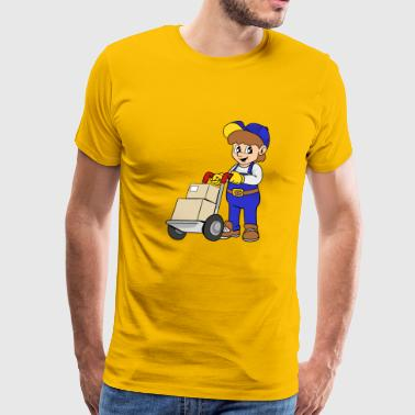 Delivery Service - Men's Premium T-Shirt