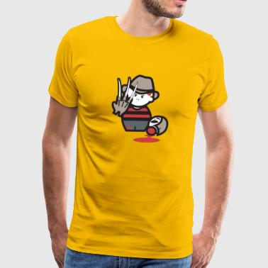 on Elm Street Cartoon - Men's Premium T-Shirt