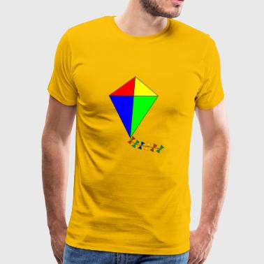 windsurfer kiting surfer kite drachenfliegen10 - Men's Premium T-Shirt