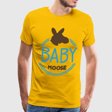 Baby Moose - Men's Premium T-Shirt