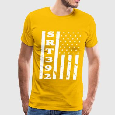 SRT392 AMERICAN FLAG - Men's Premium T-Shirt