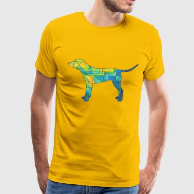 Square Dog - Men's Premium T-Shirt