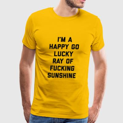 ray of sunshine funny quote - Men's Premium T-Shirt