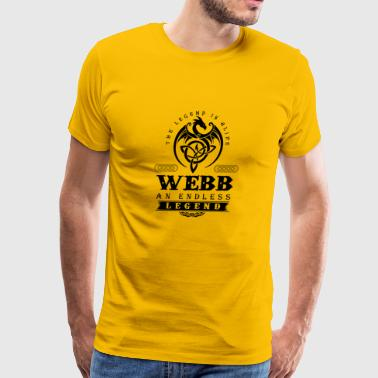 WEBB - Men's Premium T-Shirt