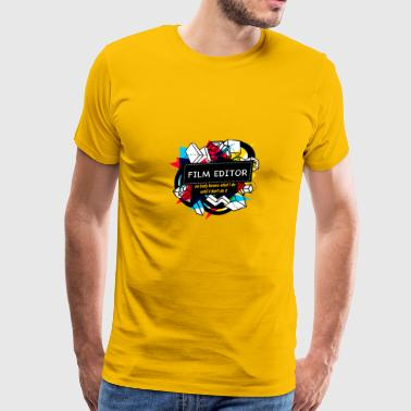 FILM EDITOR - Men's Premium T-Shirt