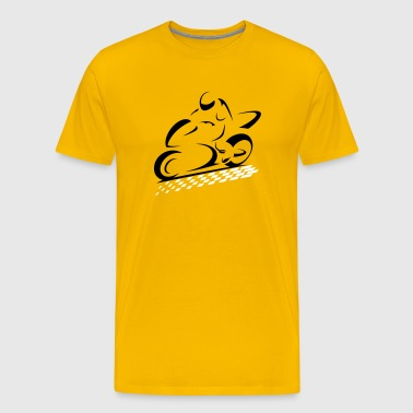 SPEED BIKE - Men's Premium T-Shirt