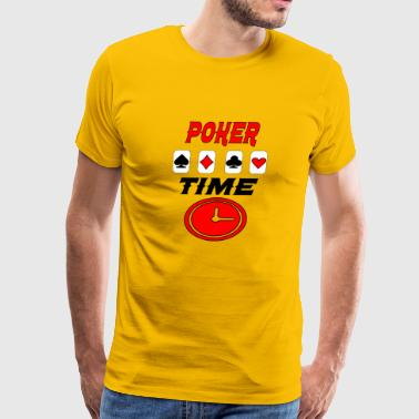 poker time - Men's Premium T-Shirt