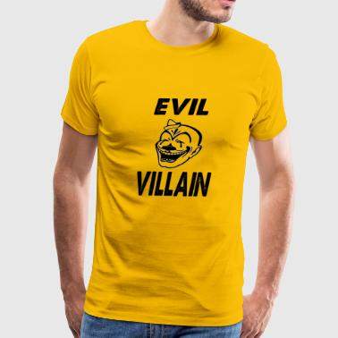 evil villain - Men's Premium T-Shirt