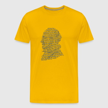 Quotable Shakespeare - Men's Premium T-Shirt