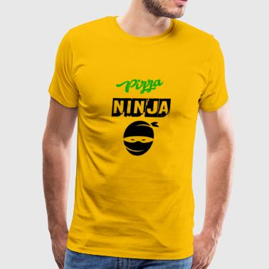pizza ninja - Men's Premium T-Shirt