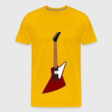 Gibson Explorer Guitar - Men's Premium T-Shirt