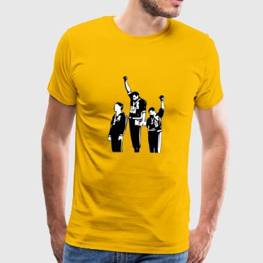 1968 Olympics Black Power Salute - Men's Premium T-Shirt