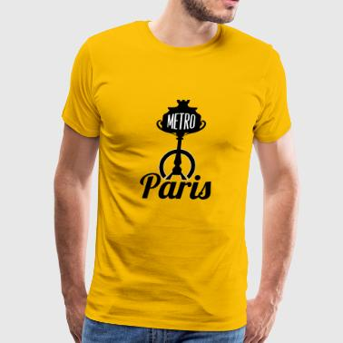 parismetro blak - Men's Premium T-Shirt