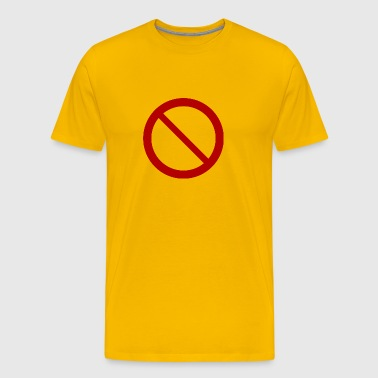 no sign / prohibition - Men's Premium T-Shirt