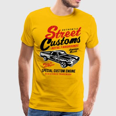 Authentic Street Custom - Men's Premium T-Shirt