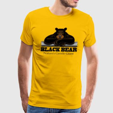 Black Bear: Nature's Gentle Giant - Men's Premium T-Shirt