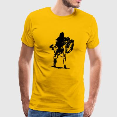 dwarf butcher - Men's Premium T-Shirt