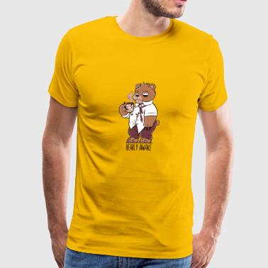 BEARLY AWAKE - Men's Premium T-Shirt