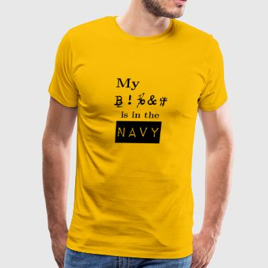 New Design BFF Navy Best Seller - Men's Premium T-Shirt