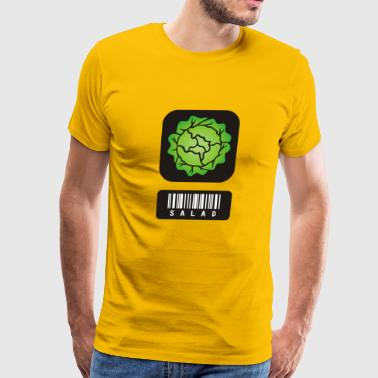 Salad Barcode - Men's Premium T-Shirt