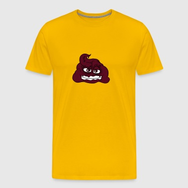 Grin shit kacke heap kot smell disgusting comic ca - Men's Premium T-Shirt
