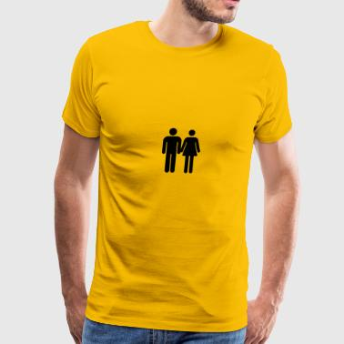 Love and Relationship - Men's Premium T-Shirt