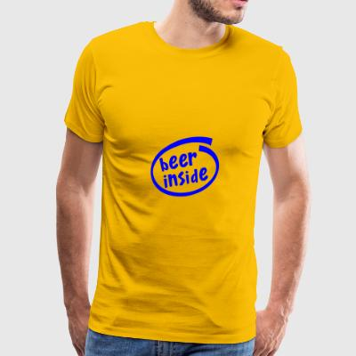 Beer Inside - Men's Premium T-Shirt