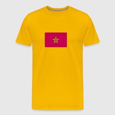 moroccan flag - Men's Premium T-Shirt