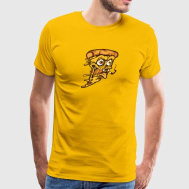Zombie Pizza - Men's Premium T-Shirt