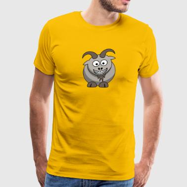 Goat Face - Men's Premium T-Shirt