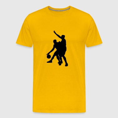 basketball player spieler sport45 - Men's Premium T-Shirt