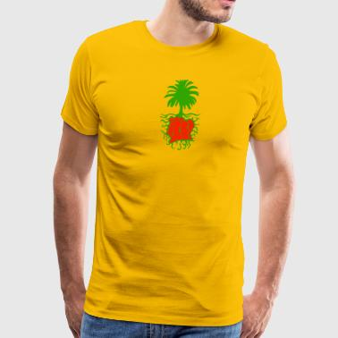 Ivory Coast Roots rasta - Men's Premium T-Shirt