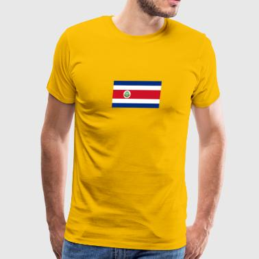 National Flag Of Costa Rica - Men's Premium T-Shirt