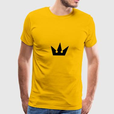 Kingdom Hearts Crown Symbol - Men's Premium T-Shirt
