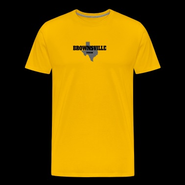 TEXAS BROWNSVILLE US STATE EDITION - Men's Premium T-Shirt