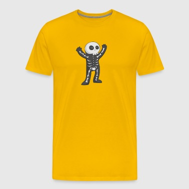 Halloween Skelett - Men's Premium T-Shirt