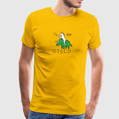 Unicorn Disco Jump - Men's Premium T-Shirt