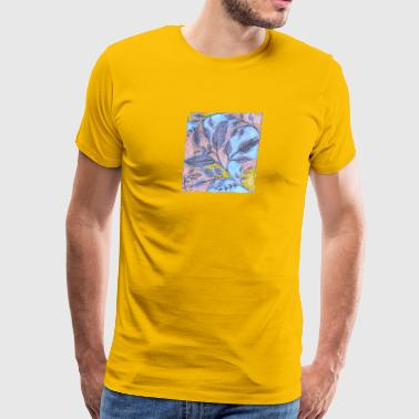 Leaves (2) = by Fanitsa Petrou - Men's Premium T-Shirt