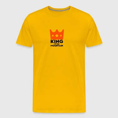 King of The Mountain. Cycling. Cyclist. KOM - Men's Premium T-Shirt