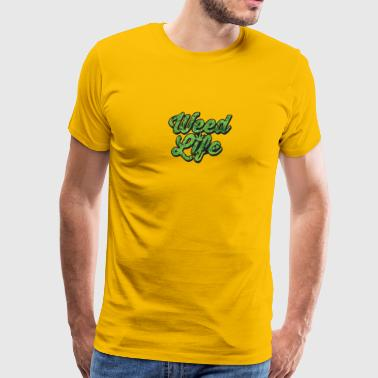 weedlife - Men's Premium T-Shirt
