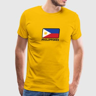 National Flag Of The Philippines - Men's Premium T-Shirt