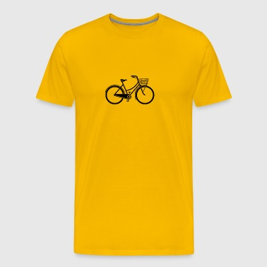 An Old Bicycle - Men's Premium T-Shirt