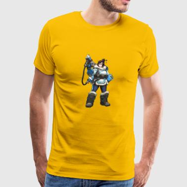 Mei portrait - Men's Premium T-Shirt