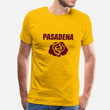 Rose Bowl Rose - Men's Premium T-Shirt