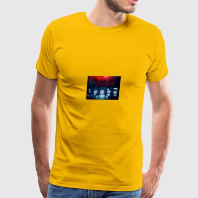 STRANGER THINGS - STRANGER THAN EVER - Men's Premium T-Shirt