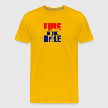 Fire in the Hole - Men's Premium T-Shirt