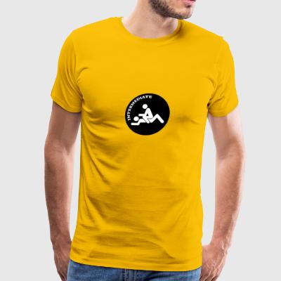 Sex Intermediate Funny Logo - Men's Premium T-Shirt