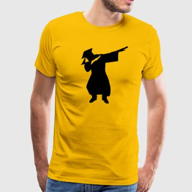 Funny Graduation dabbing gifts - Men's Premium T-Shirt